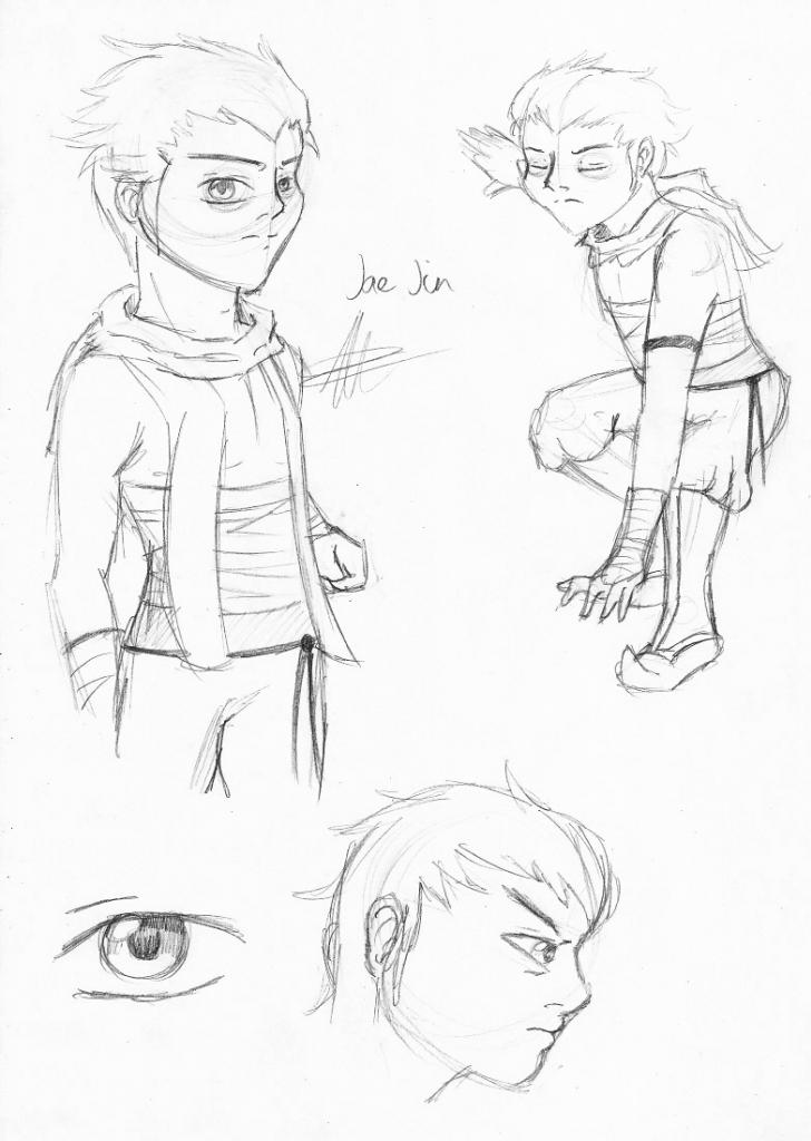 Jae jin sketch Jaejinsketch