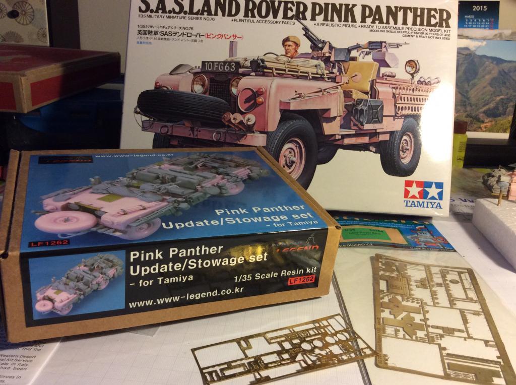 SAS LAND ROVER PINK PANTHER. TAMIYA 1:35 001_zpsbcbfde3e