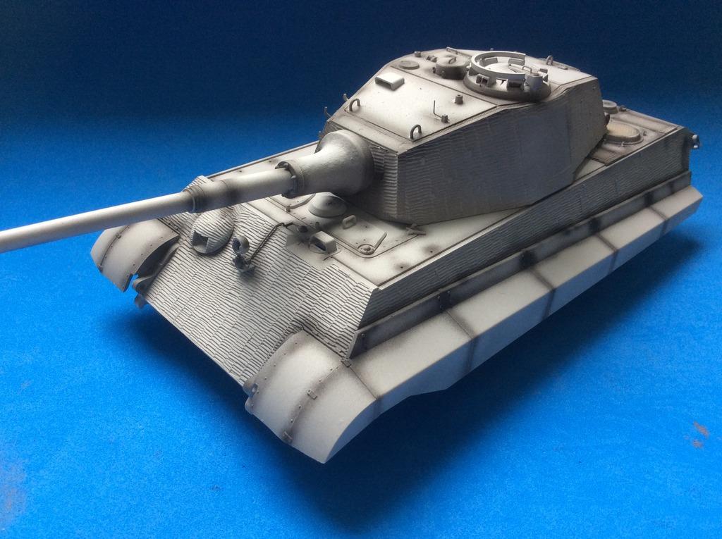 King Tiger torre Henschel con zimmerit del Pz. Abt. 505. Takom. 1:35 036_zpsjgjayqdd