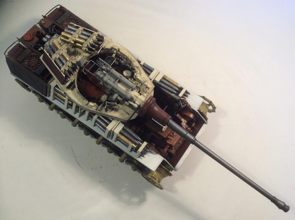 King Tiger torre Henschel con zimmerit del Pz. Abt. 505. Takom. 1:35 042_zpsyqtsivix