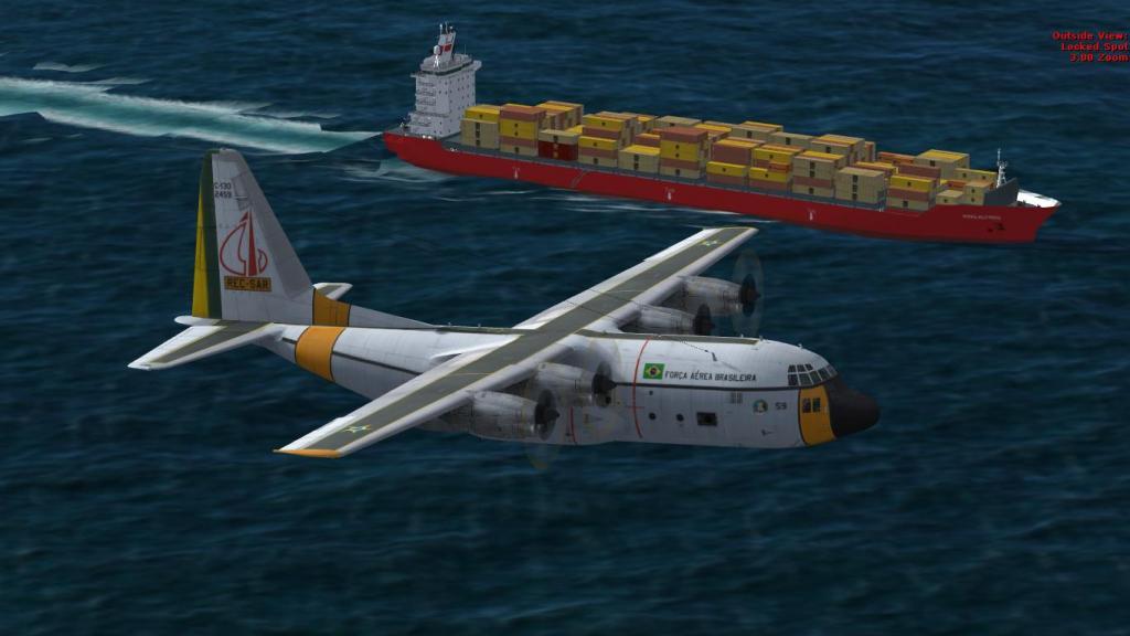 Estréia do meu Captain Sim C-130 da FAB com texturas feitas por mim Prepar3D2015-01-1322-51-22-71_zpsb0e9ad68