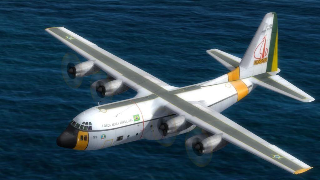 Estréia do meu Captain Sim C-130 da FAB com texturas feitas por mim Prepar3D2015-01-1322-52-42-87_zps5374bb07