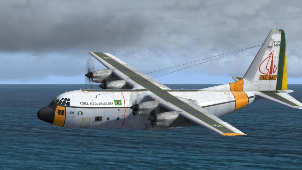 Estréia do meu Captain Sim C-130 da FAB com texturas feitas por mim Prepar3D2015-01-1322-53-26-89_zps3c490f82