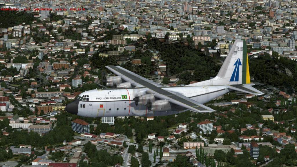 Estréia do meu Captain Sim C-130 da FAB com texturas feitas por mim Prepar3D2015-01-1323-03-26-90_zps2210d635