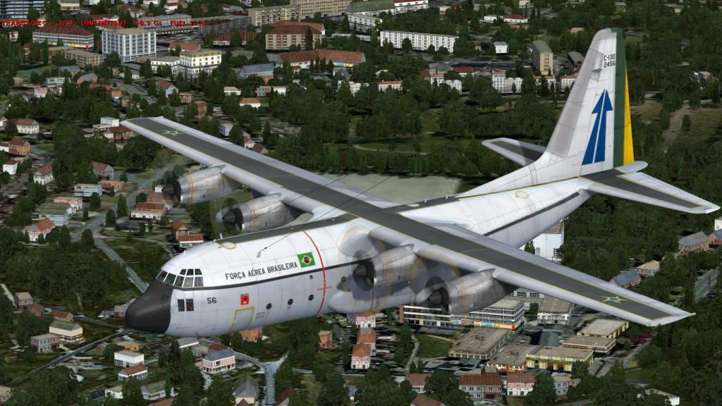 Estréia do meu Captain Sim C-130 da FAB com texturas feitas por mim Prepar3D2015-01-1323-04-51-85_zps0cbf968b