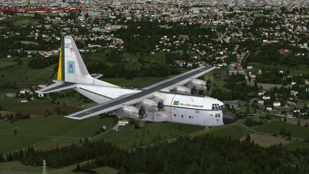 Estréia do meu Captain Sim C-130 da FAB com texturas feitas por mim Prepar3D2015-01-1323-19-28-40_zps901aa00d