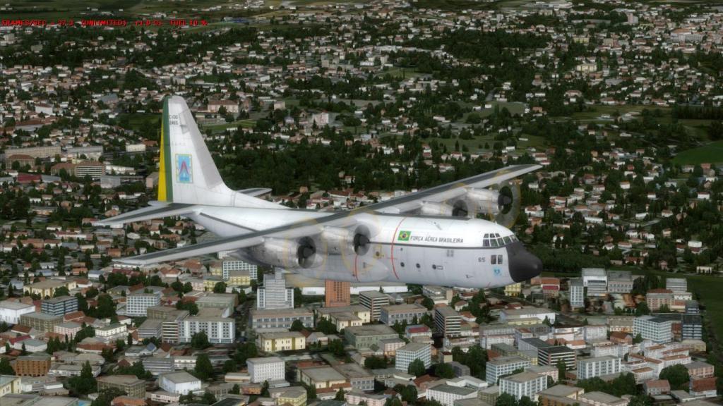Estréia do meu Captain Sim C-130 da FAB com texturas feitas por mim Prepar3D2015-01-1323-21-31-09_zps18875c28