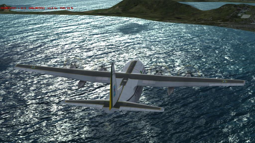 Estréia do meu Captain Sim C-130 da FAB com texturas feitas por mim Prepar3D2015-01-1323-23-36-81_zpsef47ace0