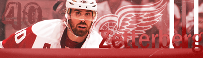 Detroit Red Wings HenrikZetterberg