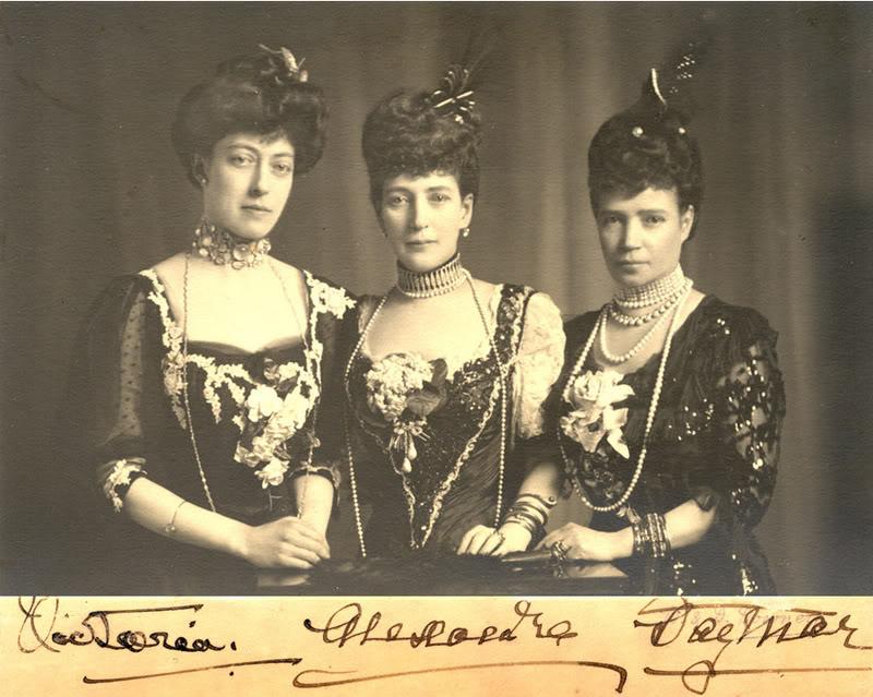 Alejandro III y María Feodorovna Queen20Alexandra2C20Princess20Victo