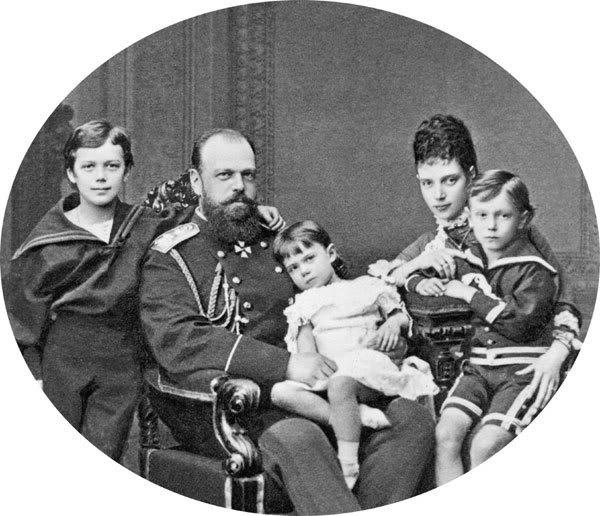 Alejandro III y María Feodorovna 391