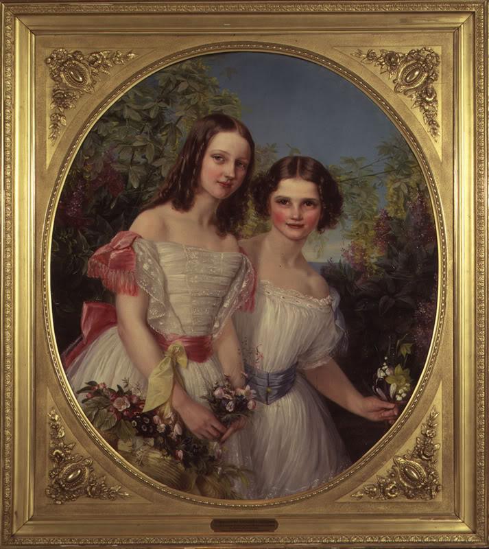 Alejandro III y María Feodorovna AlixandMinnieportraitin18561