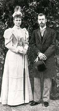 Nicolás y Alejandra Romanov261