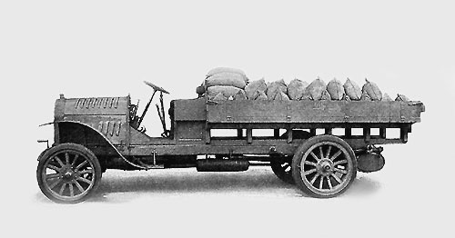 Véhicule léger allemand OpelCamion25t-1911-moteur35hp