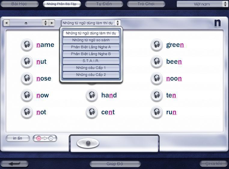 Phần mềm luyện phát âm Pronunciation power PA7