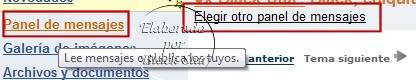 Cómo agregar un panel de mensajes Imagen1-32