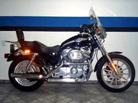 Sportster XLH 883 Custom edição comemorativa 100th anniversary Harley-Davidson-SportsterXL883Custo