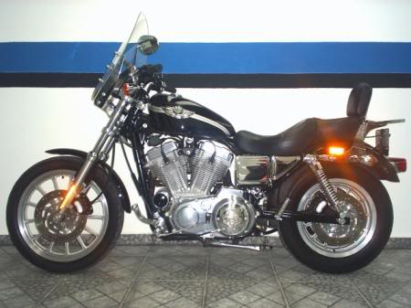 Sportster XLH 883 Custom edição comemorativa 100th anniversary Harley-DavidsonSportsterXL883Custom