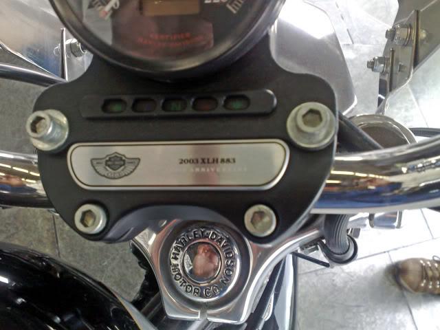 Sportster XLH 883 Custom edição comemorativa 100th anniversary HarleyDavidsonSportsterXL883Custome