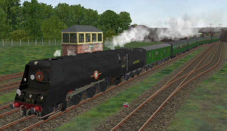 South East locos - Page 2 Black21C5
