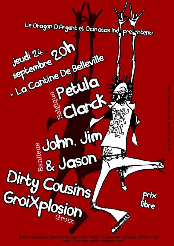 24.09 Petula Clarck + ... @ Paris 24web