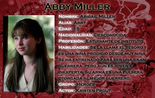 Se busca a Abby Miller (Encontrada) FichaAbby