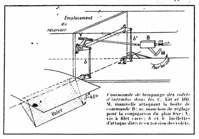 Caudron 460 et autres C460_scheacutema_laeacuteronautique_1934-07_p162_zpsab07457a