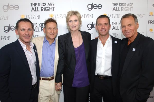 the cast at the PFLAG event 111115AM