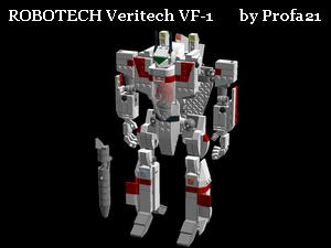 Lego Digital Designer (LDD) - Kreacije članova foruma Robotechmala
