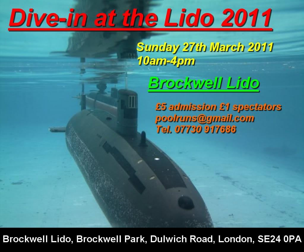 1st Brockwell Lido dive In of 2011 (Sunday 27th March) 72432f1e