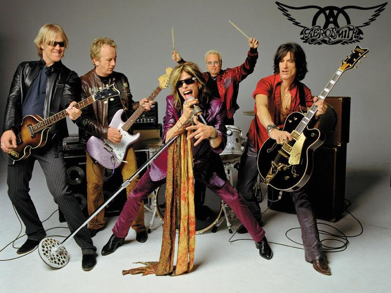 Photos με τραγουδιστές/ -στριες και συγκροτήματα Aerosmith-754139