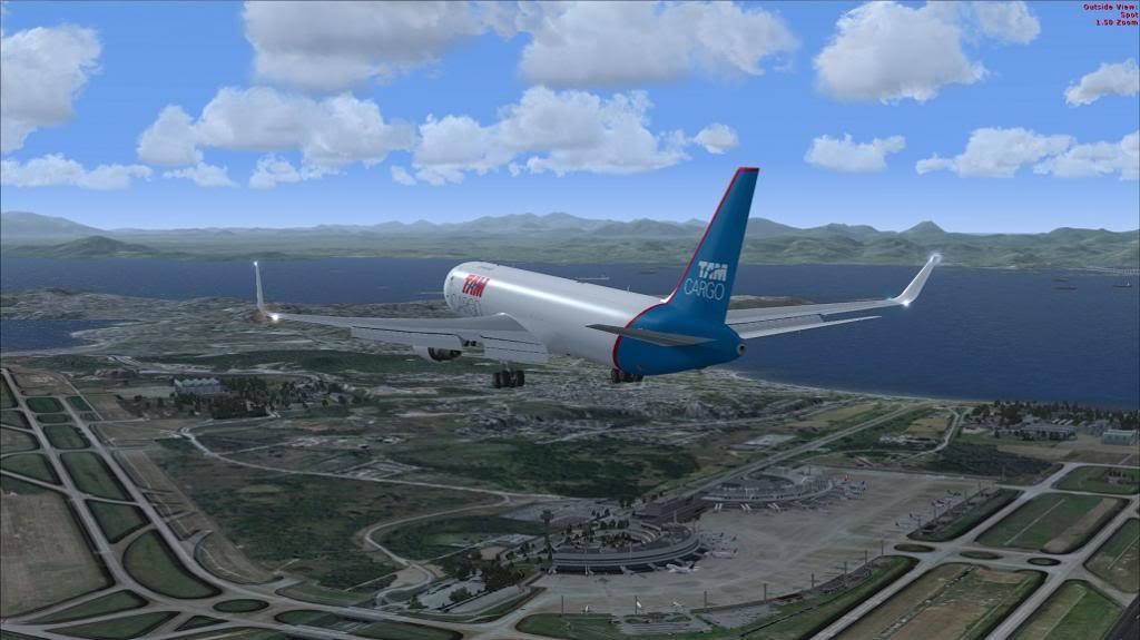 voo de SBGR para SBGL com 767 da level D TAM CARGO 10_zps66ae1f3f