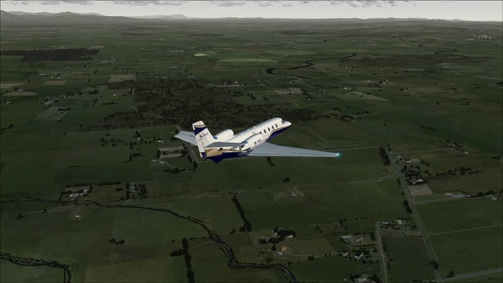 Voo Teste Aeronave free Citation Excel YMHB to YMLT na Tasmania 10_zpsff1c5838