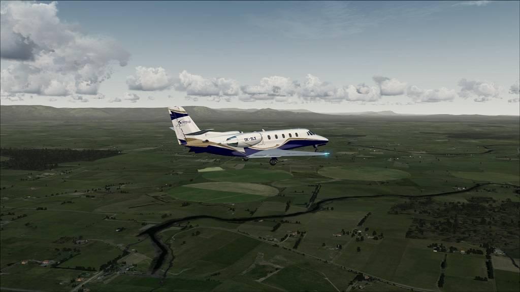 Voo Teste Aeronave free Citation Excel YMHB to YMLT na Tasmania 11_zps644e61f2