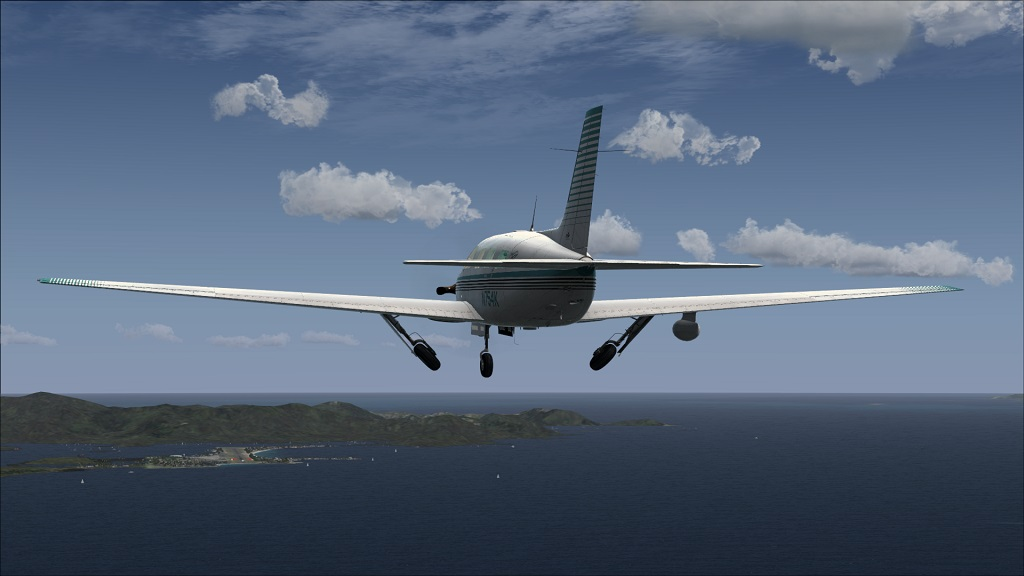 Voo TNCM com carenando Piper 46T Malibu 11_zpsad616ea2