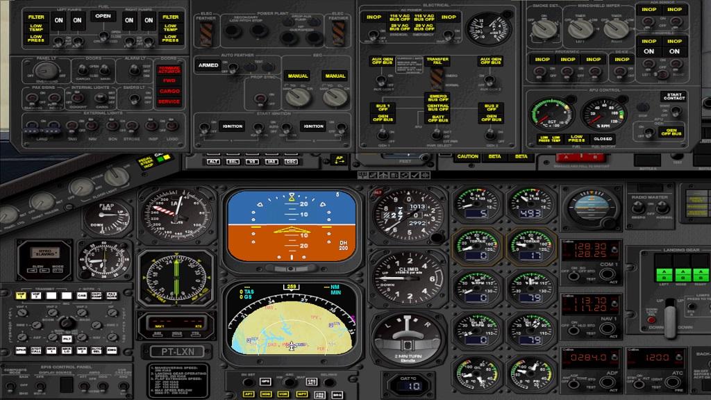 Matando Saudades Aeronave e Cia Aérea EMB-120 11_zpslwjrqfqm