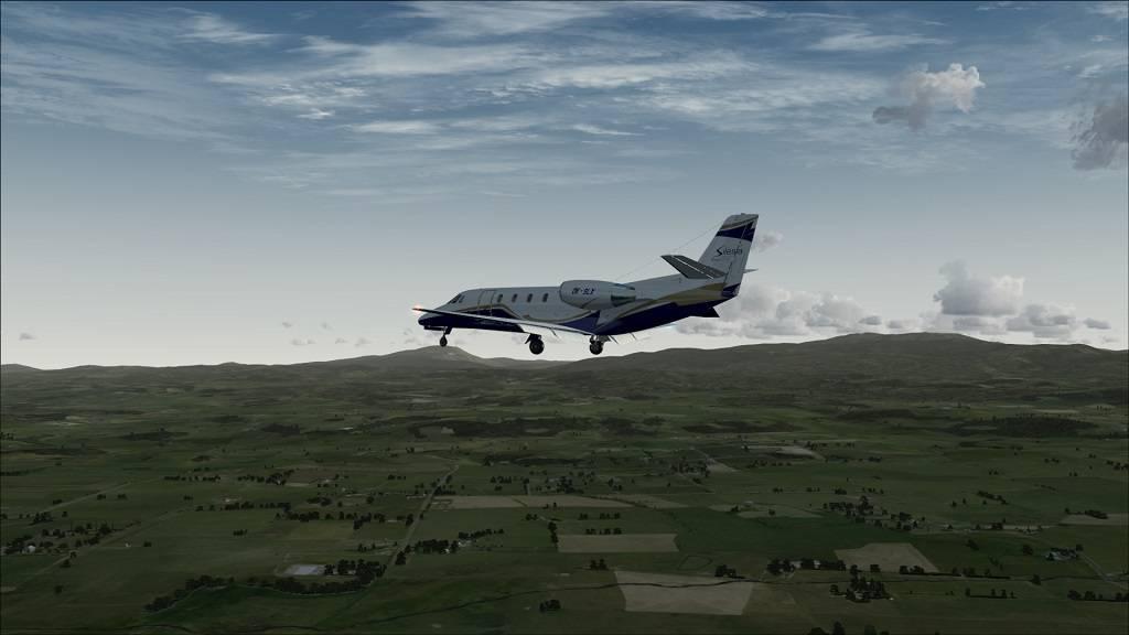 Voo Teste Aeronave free Citation Excel YMHB to YMLT na Tasmania 12_zps515a7b0e