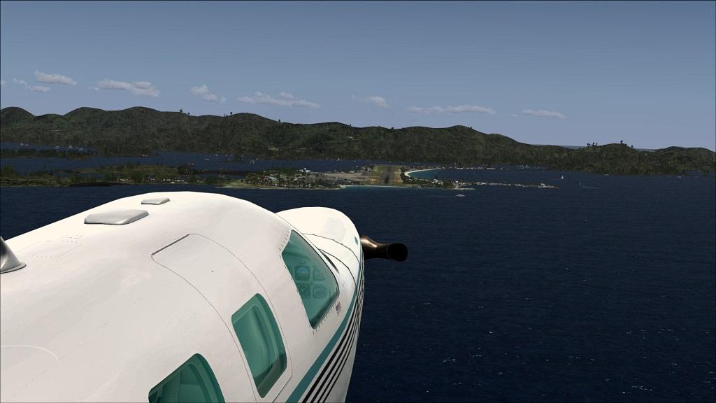 Voo TNCM com carenando Piper 46T Malibu 13_zpsd7cf09e0