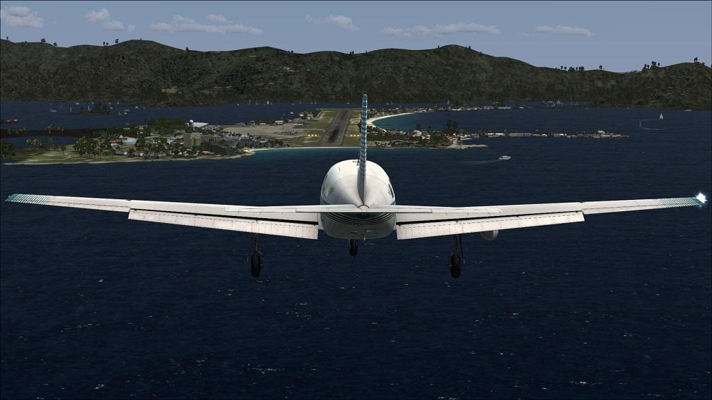 Voo TNCM com carenando Piper 46T Malibu 14_zps7d314960