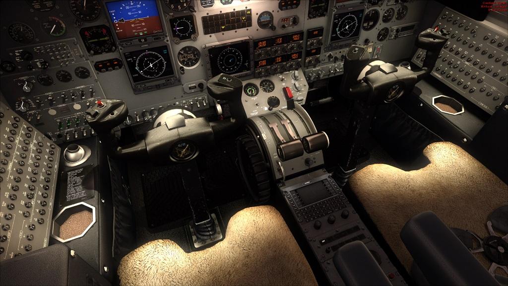 Lançado Citation 550 da Carendo algumas Screenshots excelente aeronave, Coloquei agora fotos do painel 2_zps6f0b98dc