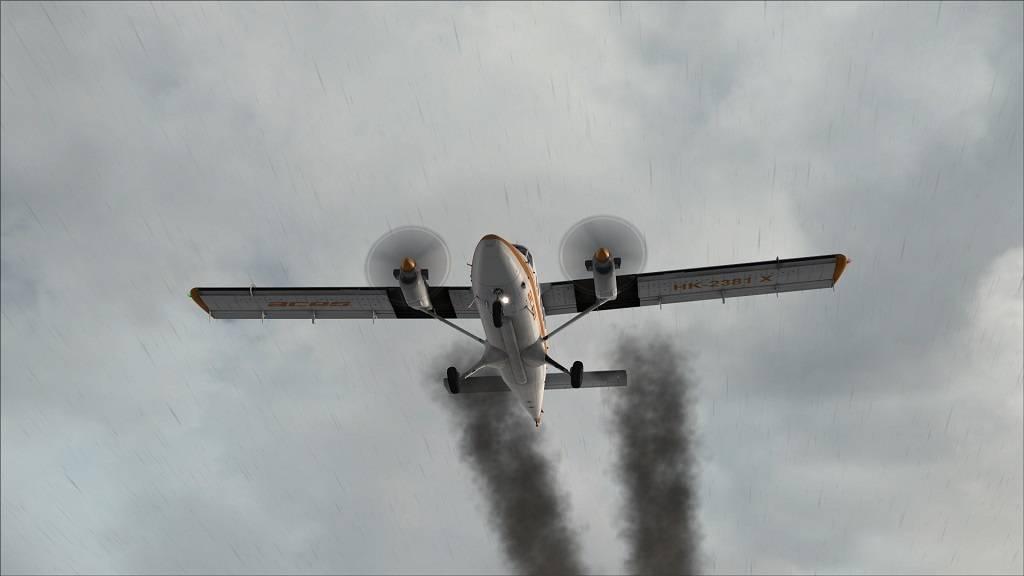 Twin Otter Extended Pane após decolagem Aeroporto MUVR Varedero Cuba 3_zpsd4mq5a8u