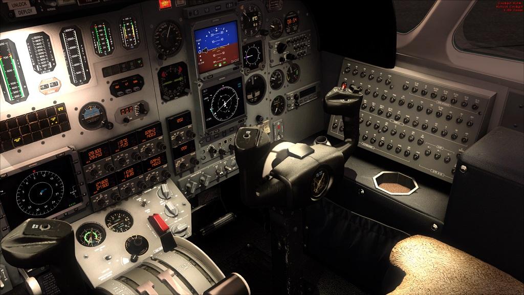 Lançado Citation 550 da Carendo algumas Screenshots excelente aeronave, Coloquei agora fotos do painel 4_zps08c8ad79