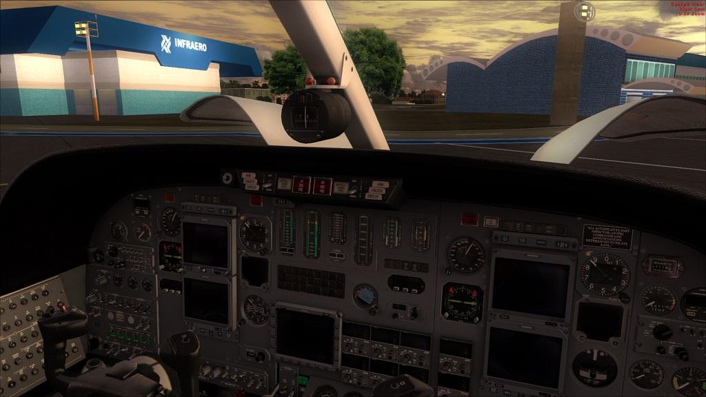 Lançado Citation 550 da Carendo algumas Screenshots excelente aeronave, Coloquei agora fotos do painel 6_zps3d67a854