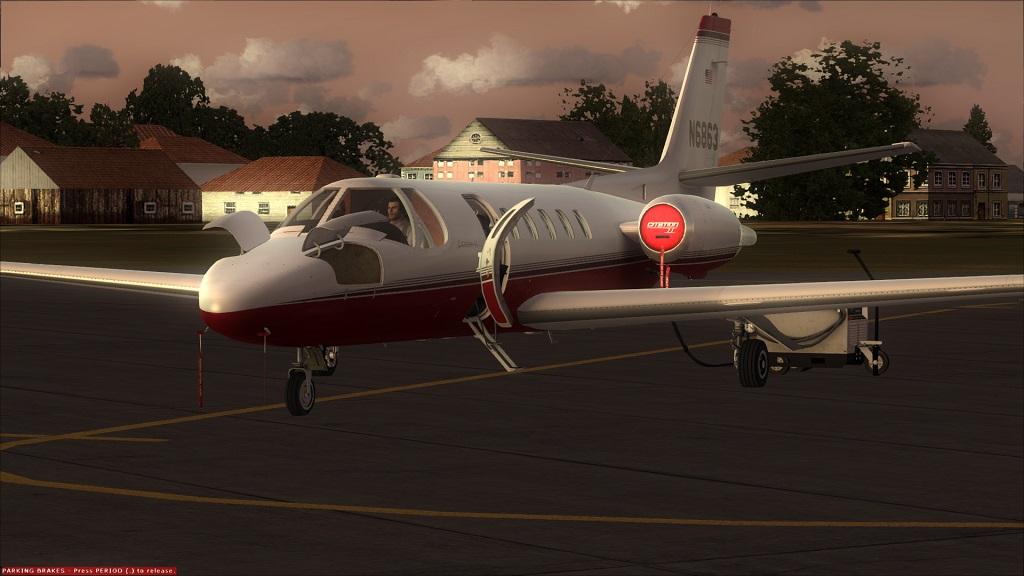 Lançado Citation 550 da Carendo algumas Screenshots excelente aeronave, Coloquei agora fotos do painel 7_zps02bcb091