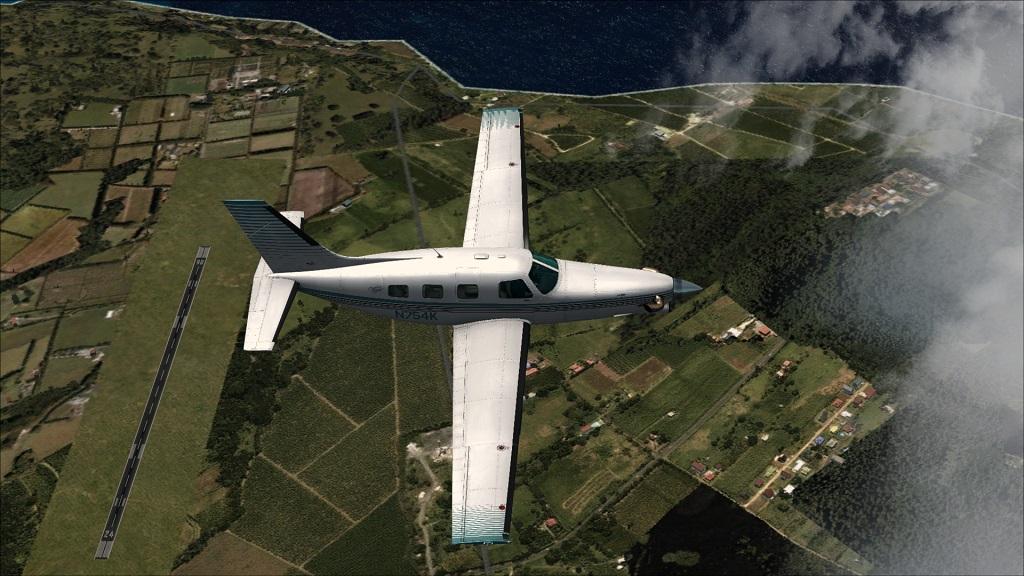 Voo TNCM com carenando Piper 46T Malibu 8_zps36ec215a