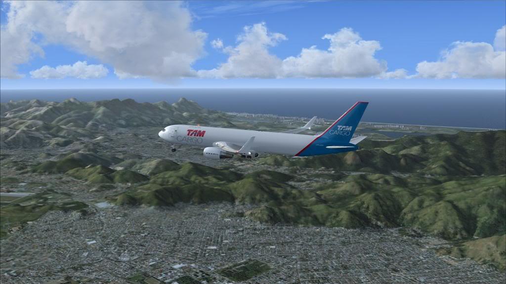 voo de SBGR para SBGL com 767 da level D TAM CARGO 8_zpsfcd2e53f