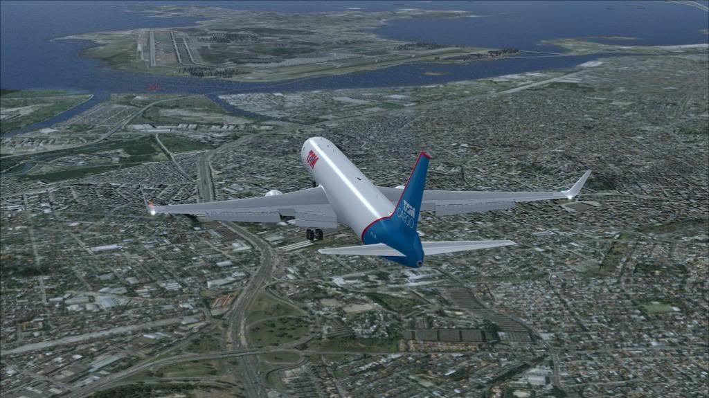 voo de SBGR para SBGL com 767 da level D TAM CARGO 9_zps842c6083