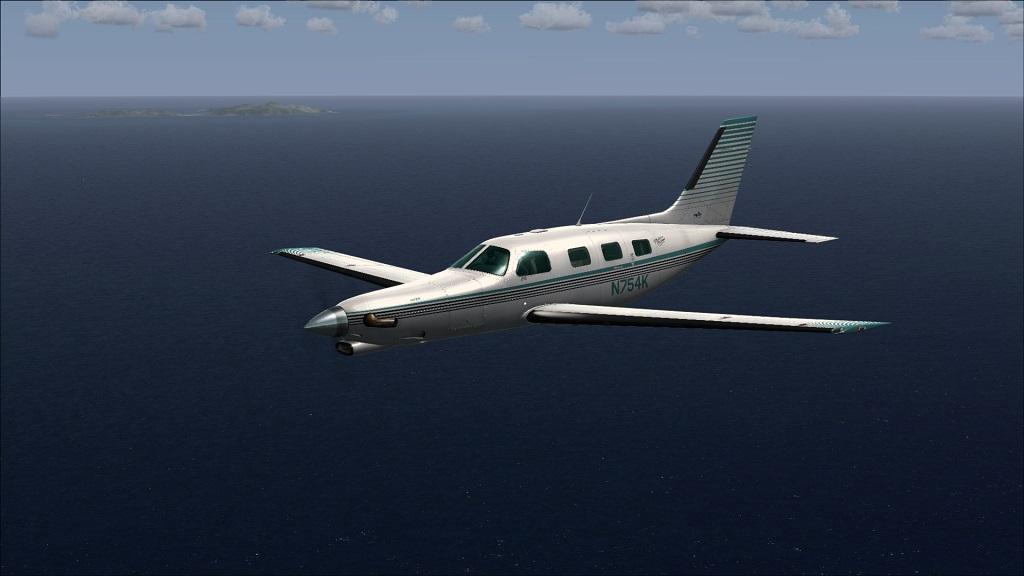 Voo TNCM com carenando Piper 46T Malibu 9_zps8d9e0c2b