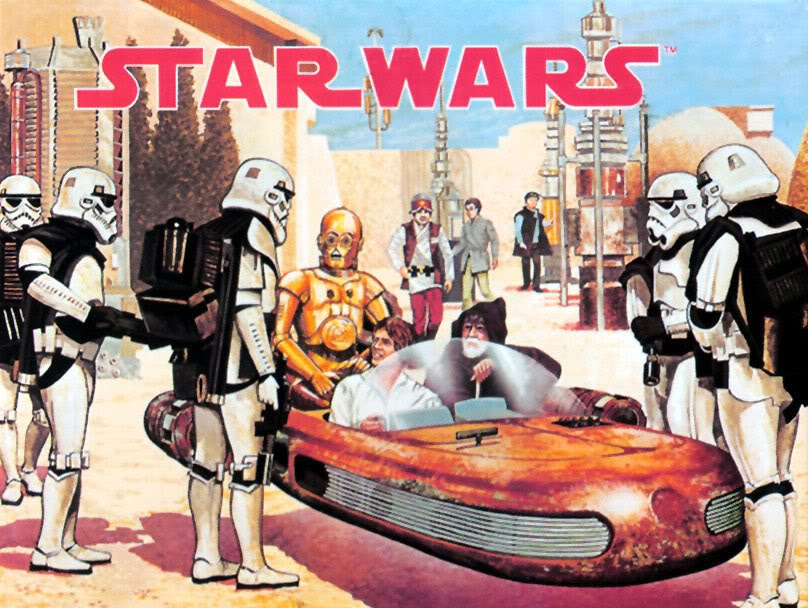 Bud's Star Wars Vintage Collectible reviews and other things Bud likes! Painting_zps6e7c5d4a