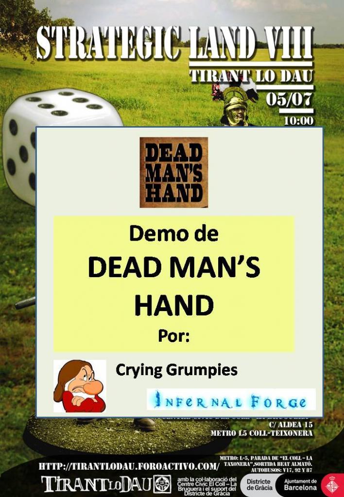 Mesa Demo DEAD MAN'S HAND, Wester con miniaturas CartelSLPresentacionDMH_zps018ccad6